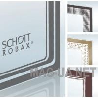 Скло для печі вогнетривке жаростійке SCHOTT ROBAX по індивідуальним розмірам