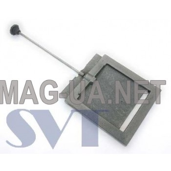 Чавунна задвижка димоходу 210х210 (160х160)