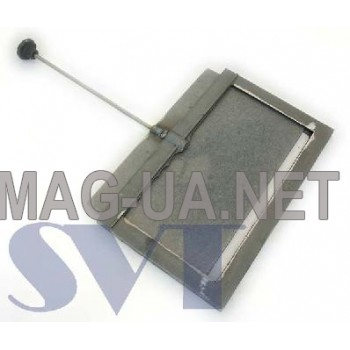 Чавунна задвижка димоходу 350х210 (300х160)
