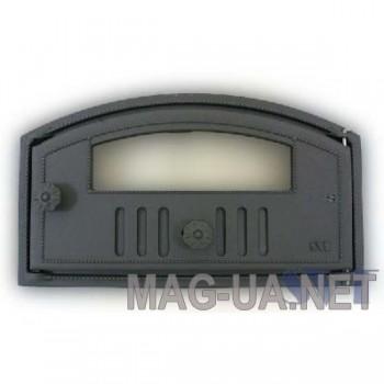 Хлібної печі чавунна дверка  215/275х495 (180/230х440)