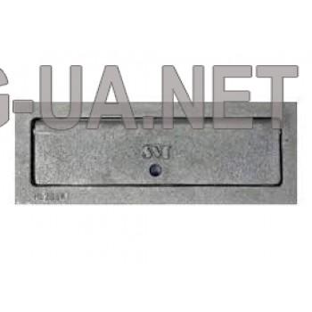 Чавунна дверка для вигрібання вугілля  110х295 (80х270)