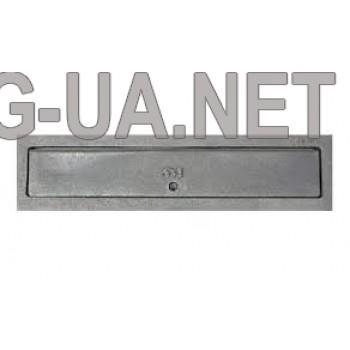 Чавунна дверка для вигрібання вугілля  110х440 (80х410)
