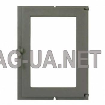 Камінна чавунна дверка  460х343 (410х275)