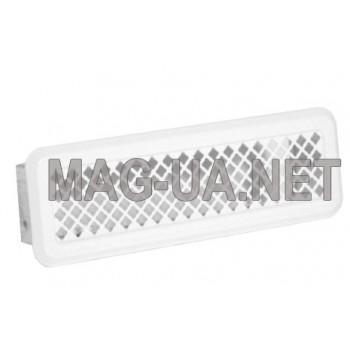 Біла вентиляційна решітка К0 65x205 (45x185)