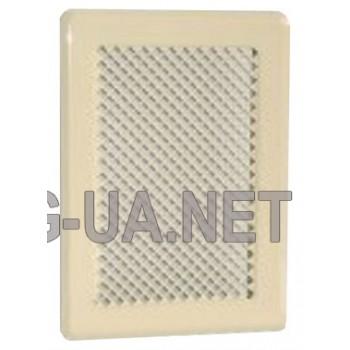 Кремова вентиляційна решітка К1 135x195 (105х165)