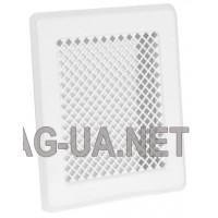 Біла вентиляційна решітка К2 175x195 (140x165)