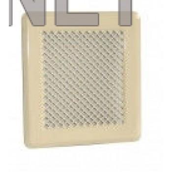 Бежева вентиляційна решітка К2 175x195 (140x165)