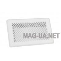 Біла вентиляційна решітка К3 175x245 (140x215)