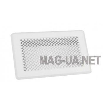 Біла вентиляційна решітка 175x245 (140x215)