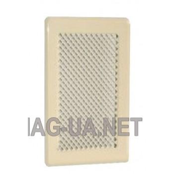 Кремова вентиляційна решітка 175x245 (140x215)