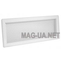 Біла вентиляційна решітка К4 195x335 (165x300)