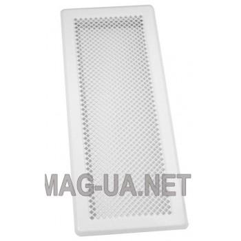 Біла вентиляційна решітка К5 195x485 (165x455)