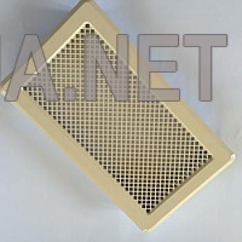 Бежева вентиляційна решітка К4 195x335 (165x300)
