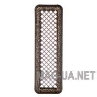 Антік мідна вентиляційна решітка К0 65x205 (45x185)