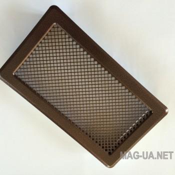 Антік мідна вентиляційна решітка К4 195x335 (165x300)