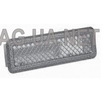 Антік срібло вентиляційна решітка К0 65x205 (45x185)