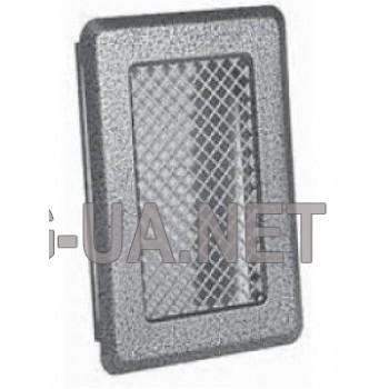 Антік срібло вентиляційна решітка К1 135x195 (105х165)
