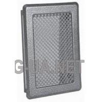 Антік срібло вентиляційна решітка К3 175x245 (140x215)