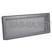 Антік срібло вентиляційна решітка К5  195x485 (165x455)
