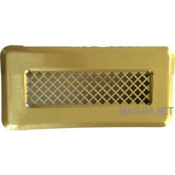 Латунна вентиляційна решітка К0 65x205 (45x185)