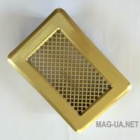 Латунна вентиляційна решітка К1 135x195 (105х165)