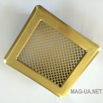 Латунна вентиляційна решітка К2 175x195 (140x165)