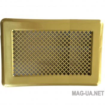 Латунна вентиляційна решітка 175x245 (140x215)