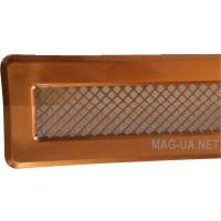 Мідна вентиляційна решітка К0 65x205 (45x185)