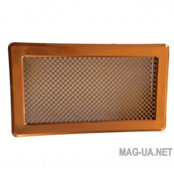Мідна вентиляційна решітка К5 195x485 (165x455)
