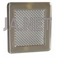 Нержавіюча вентиляційна решітка К2 175x195 (140x165)