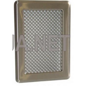 Нержавіюча вентиляційна решітка 175x245 (140x215)