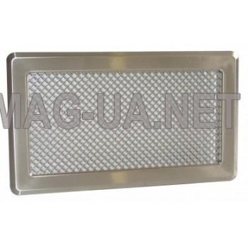 Нержавіюча вентиляційна решітка К4 195x335 (165x300)
