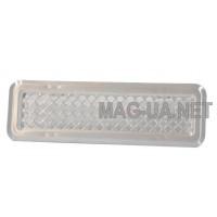 Нержавіюча вентиляційна решітка К0 65x205 (45x185)