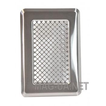Нержавіюча вентиляційна решітка К1 135x195 (105х165)