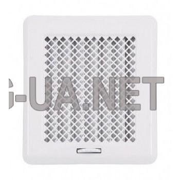 Біла вентиляційна решітка Кz2 175x195 (140x165)