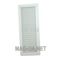 Біла вентиляційна решітка з жалюзями Кz5  195x485 (165x455)