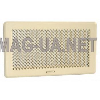 Кремова вентиляційна решітка з жалюзями Кz4 195x335 (165x300)