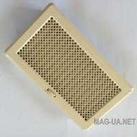 Бежева вентиляційна решітка з жалюзями Кz5  195x485 (165x455)