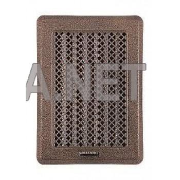 Антік мідна вентиляційна решітка Кz1 135x195 (105х165)