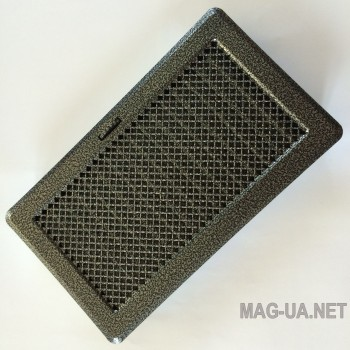 Антік срібло вентиляційна решітка з жалюзями Кz5 195x485 (165x455)