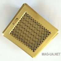 Латунна вентиляційна решітка Кz2 175x195 (140x165)