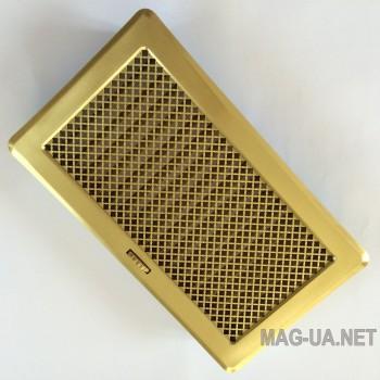 Латунна вентиляційна решітка з жалюзями Кz4 195x335 (165x300)