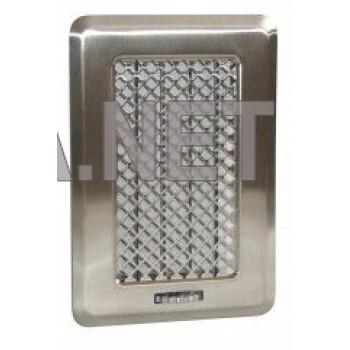 Нержавіюча вентиляційна решітка Кz1 135x195 (105х165)