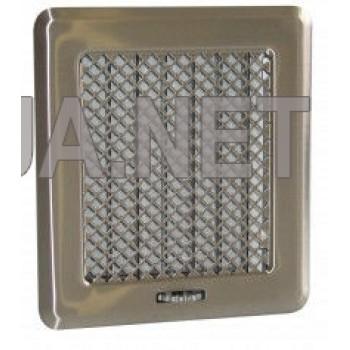 Нержавіюча вентиляційна решітка Кz2 175x195 (140x165)