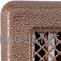 Антік мідна вентиляційна решітка Кz2 175x195 (140x165)