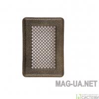 Антік латунна вентиляційна решітка К1 135x195 (105х165)