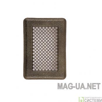 Антік мідна вентиляційна решітка К1 135x195 (105х165)
